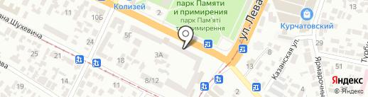 Красногвардійська районна організація Товариство Червоного Хреста України на карте Днепропетровска