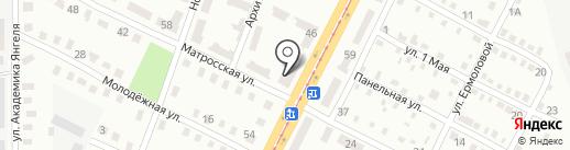 Наш дворик на карте Днепропетровска