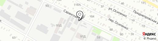 ВИТОЛ на карте Днепропетровска