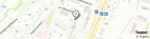 Державний фонд сприяння молодіжному житловому будівництву на карте Днепропетровска