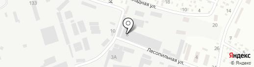 Форест.ТМД на карте Днепропетровска