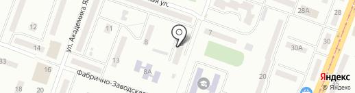 Общежитие на карте Днепропетровска