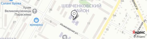 Дошкільний навчальний заклад №203 на карте Днепропетровска