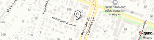 Руденко на карте Днепропетровска