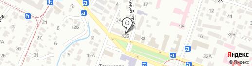 Алеф-Аккорд на карте Днепропетровска