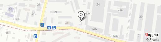 Станкостроитель на карте Днепропетровска