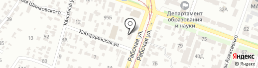 Metalvis на карте Днепропетровска