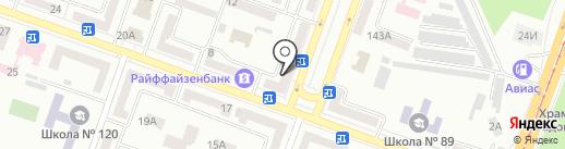 Лидер на карте Днепропетровска