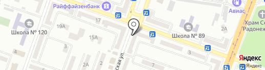 Шинкарь на карте Днепропетровска