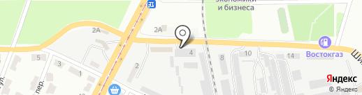 Eurodach на карте Днепропетровска