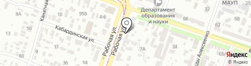 Возрождение на карте Днепропетровска