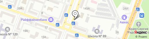 Мастерская на карте Днепропетровска