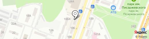 Fusion на карте Днепропетровска
