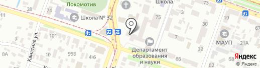 Департамент освіти і науки Дніпропетровської облдержадміністрації на карте Днепропетровска