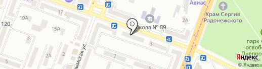 ДнепрОфис на карте Днепропетровска