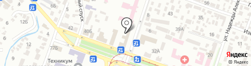 Міжрегіональне вище професійне училище з поліграфії та інформаційних технологій на карте Днепропетровска