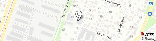 Промателье сервис на карте Днепропетровска
