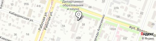 Автомойка на карте Днепропетровска