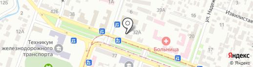 Кепитал-Сити на карте Днепропетровска
