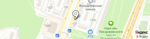 ІМПЕРІЯ КУХОНЬ на карте Днепропетровска