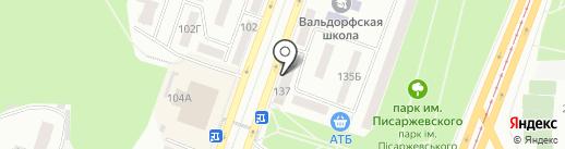 РУМУНСЬКІ МЕБЛІ на карте Днепропетровска