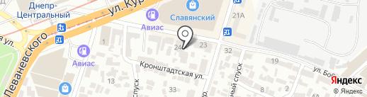 Львів-Меблі на карте Днепропетровска