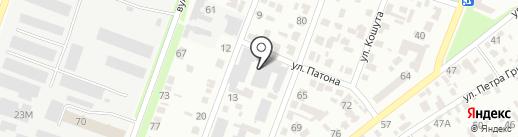 XTRA TV на карте Днепропетровска
