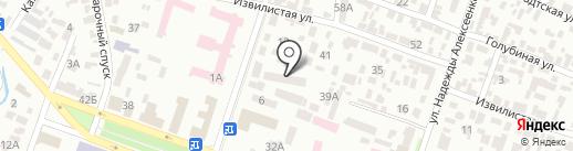 Галион-Днепр на карте Днепропетровска