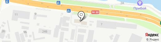 Делер Украина на карте Днепропетровска