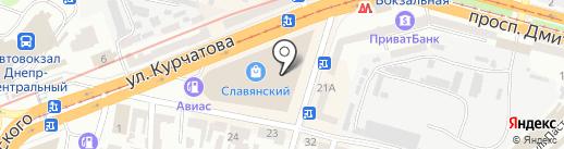 Vigoss на карте Днепропетровска