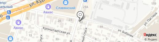 Пиво на разлив на карте Днепропетровска