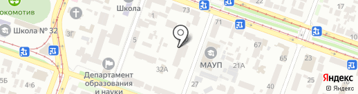 ТНТ, ТОВ на карте Днепропетровска