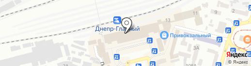 АБ Експрес-Банк на карте Днепропетровска