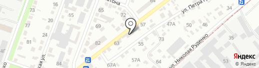 PD Studio на карте Днепропетровска
