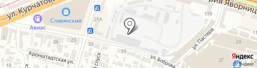 Люкс на карте Днепропетровска