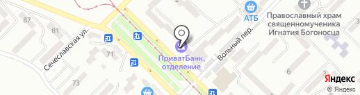 Роллеты на карте Днепропетровска