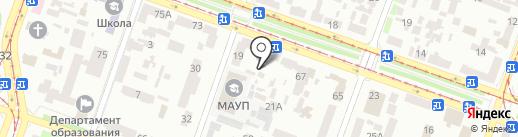 АЛАН на карте Днепропетровска