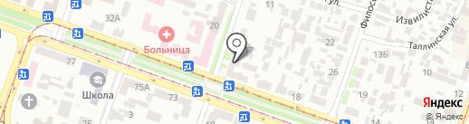 Орхидея на карте Днепропетровска