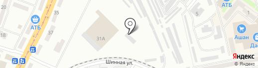 Агропромкомплект на карте Днепропетровска