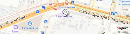 Ваш доктор на карте Днепропетровска