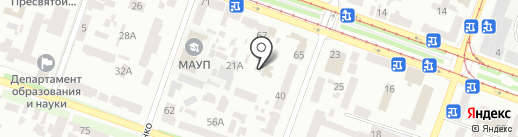 Инвестор на карте Днепропетровска