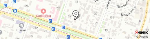 АВТОПЛАНЕТА на карте Днепропетровска