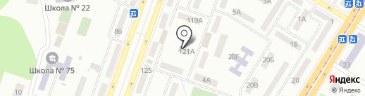 Школа Елены Спасовой на карте Днепропетровска