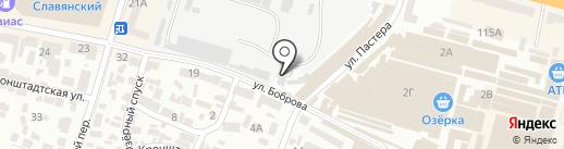 Меблі на карте Днепропетровска