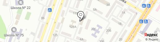 ВВС-СЕРВИС на карте Днепропетровска