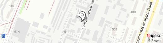ЛИНИЯ МЕБЕЛИ на карте Днепропетровска