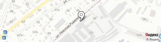 Успех-Д на карте Днепропетровска