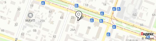 Веданта на карте Днепропетровска
