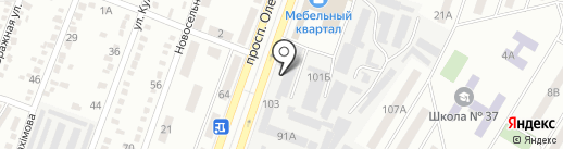 Родной продукт на карте Днепропетровска