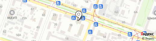 Софит Свет на карте Днепропетровска